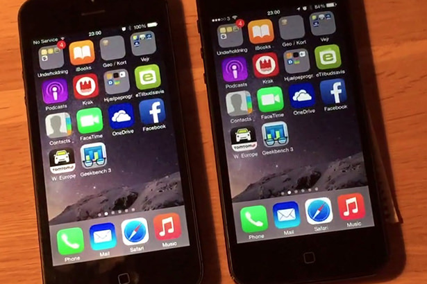 Скорость работы iOS 8.2 Beta 5 сравнили с iOS 8.1.3 на iPhone 4s и iPhone 5