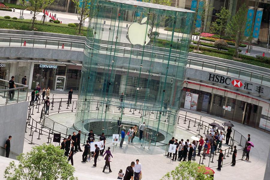 Apple запускает программу по обмену старых iPhone и iPad на новые в Китае