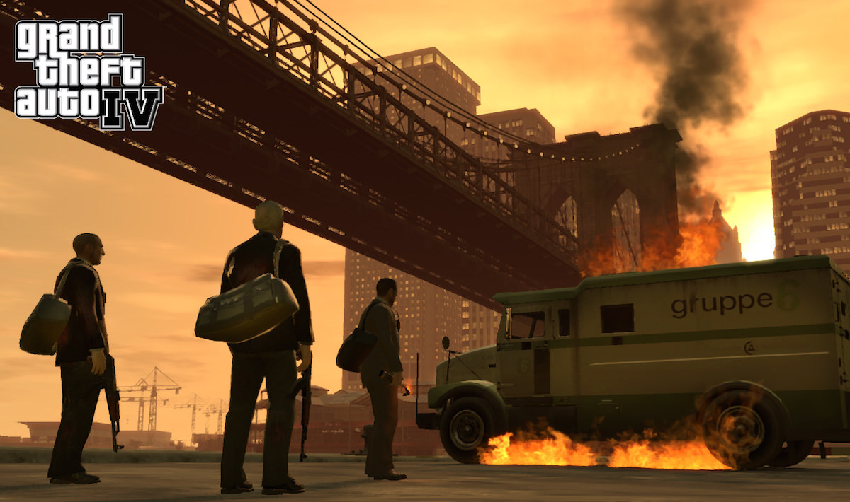 GTA IV iOS iPhone Ipad Russia App Store Download 2