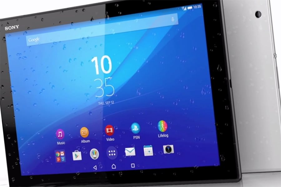 Sony презентовала самый тонкий и легкий в мире планшет Xperia Z4 Tablet