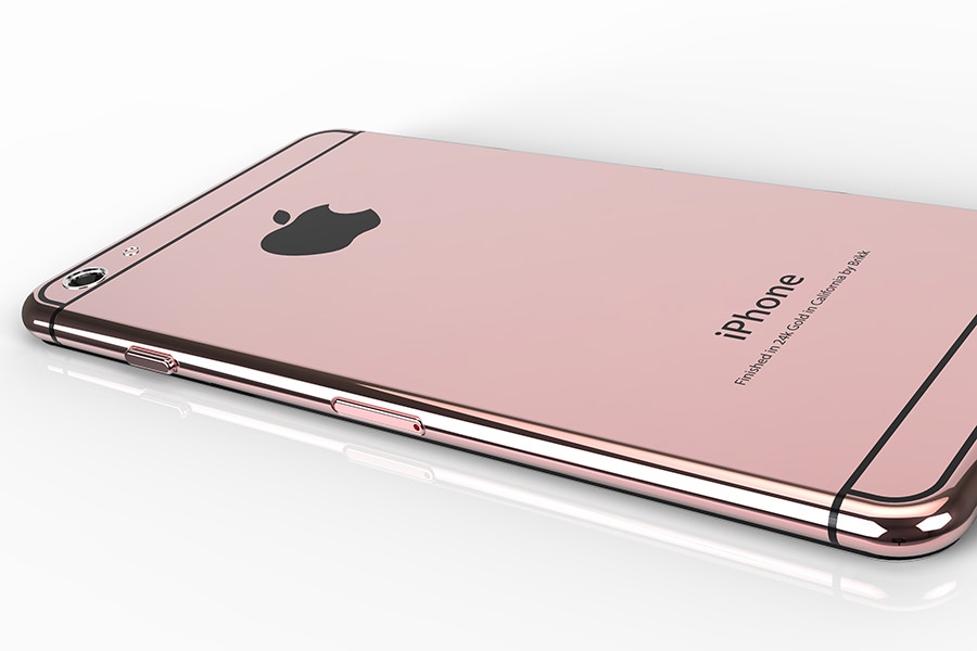 Apple выпустит розовый iPhone 6s с поддержкой технологии Force Touch