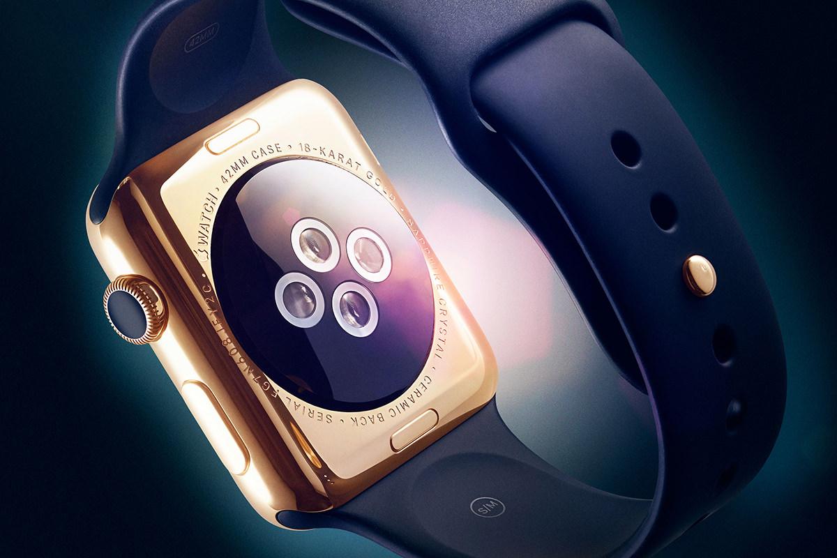 Как превратить обычные Apple Watch Sport в золотые Watch Edition