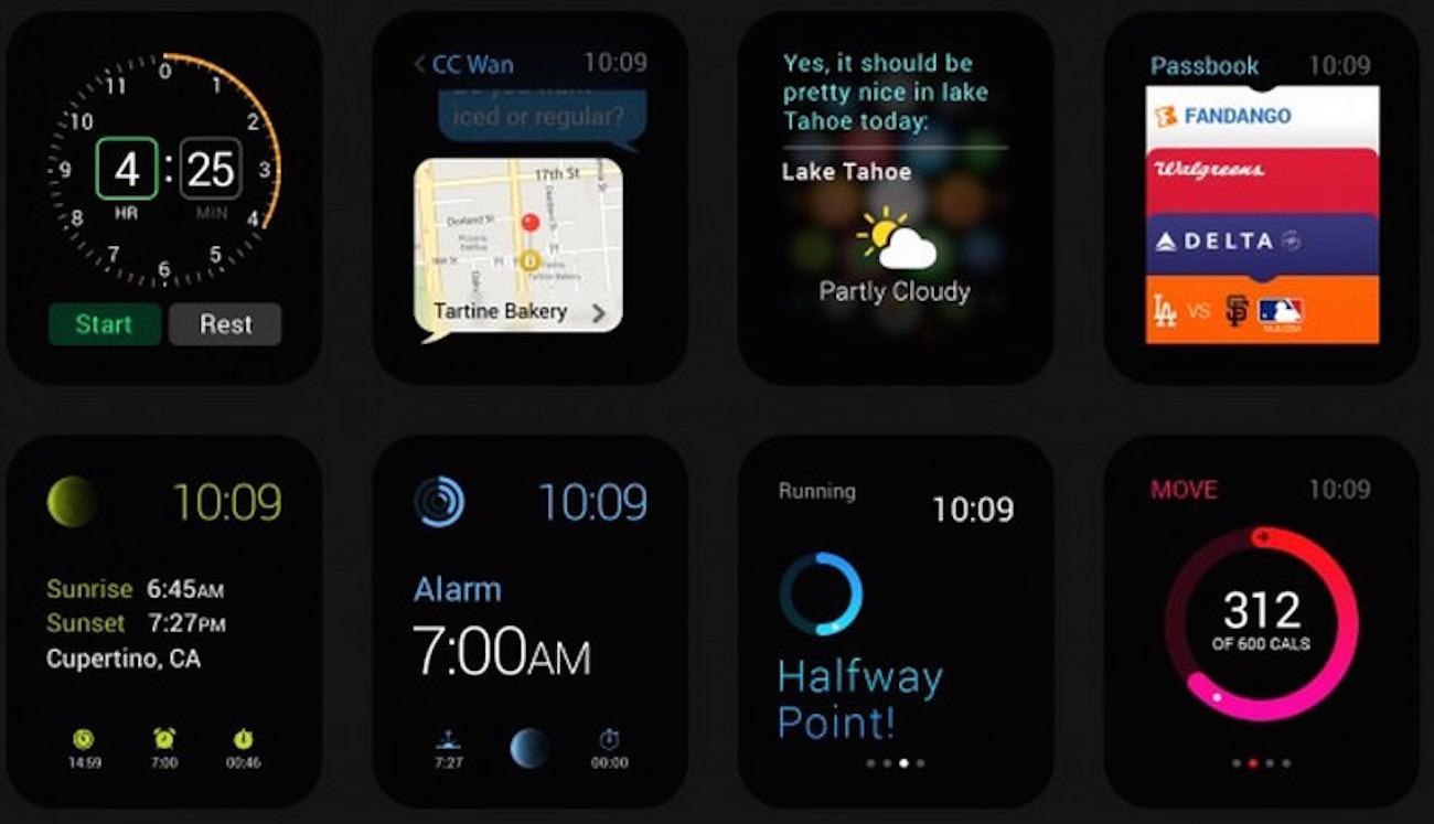 Apple Watch Gui Apple Store Russia iOS 8 Design 4