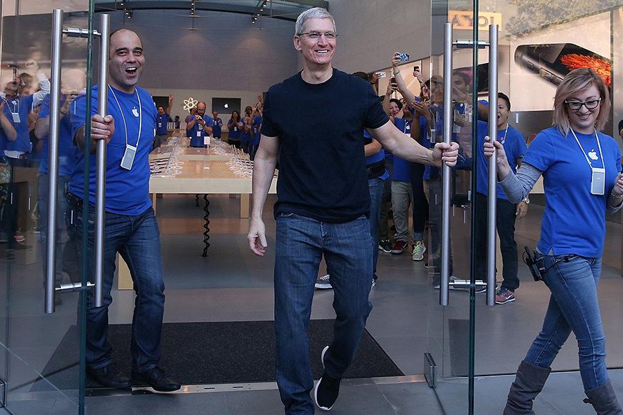 Сотрудники Apple Store получат 50% скидку на часы Apple Watch