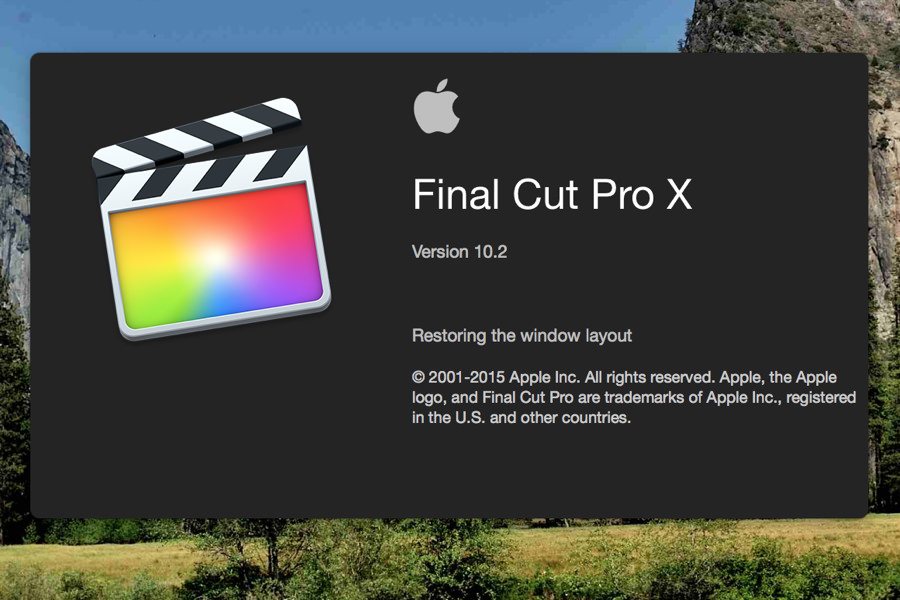 Final Cut Pro Yosemite Russia Update 10.2