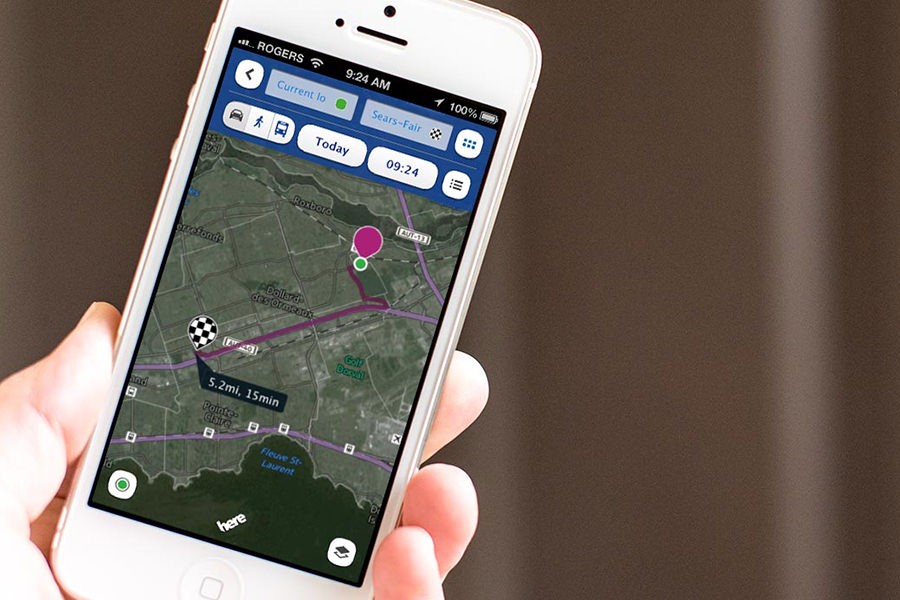 Apple собирается купить картографический сервис Nokia HERE Maps