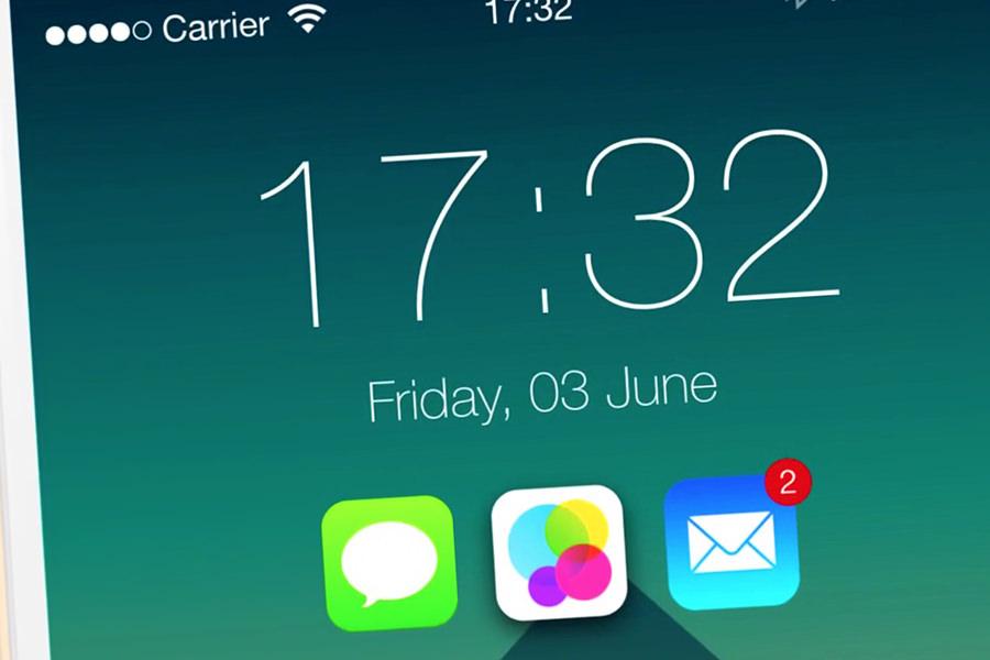 Реалистичный концепт операционной системы iOS 9