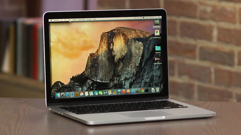 15 MacBook Pro Apple 2015 Update Intel 2