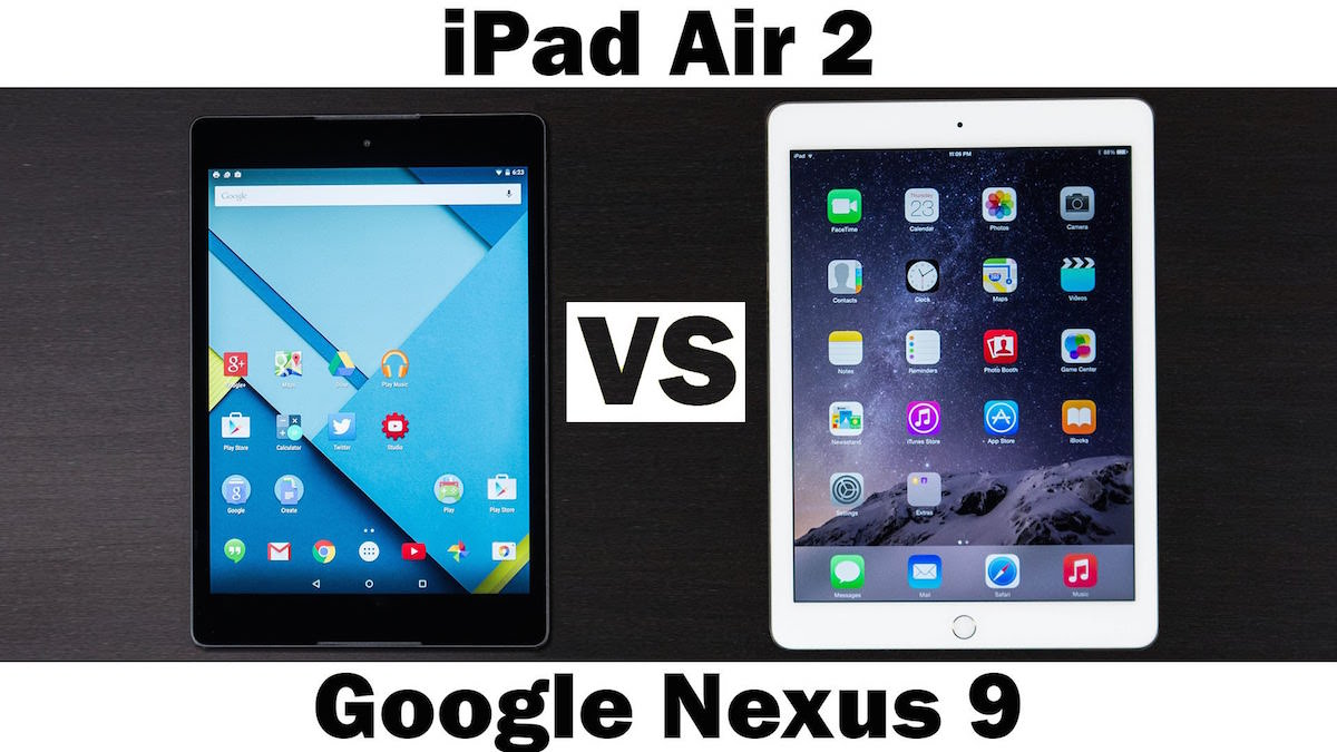 Nexus 9 iPad Air 2 Vs Review Russia  2