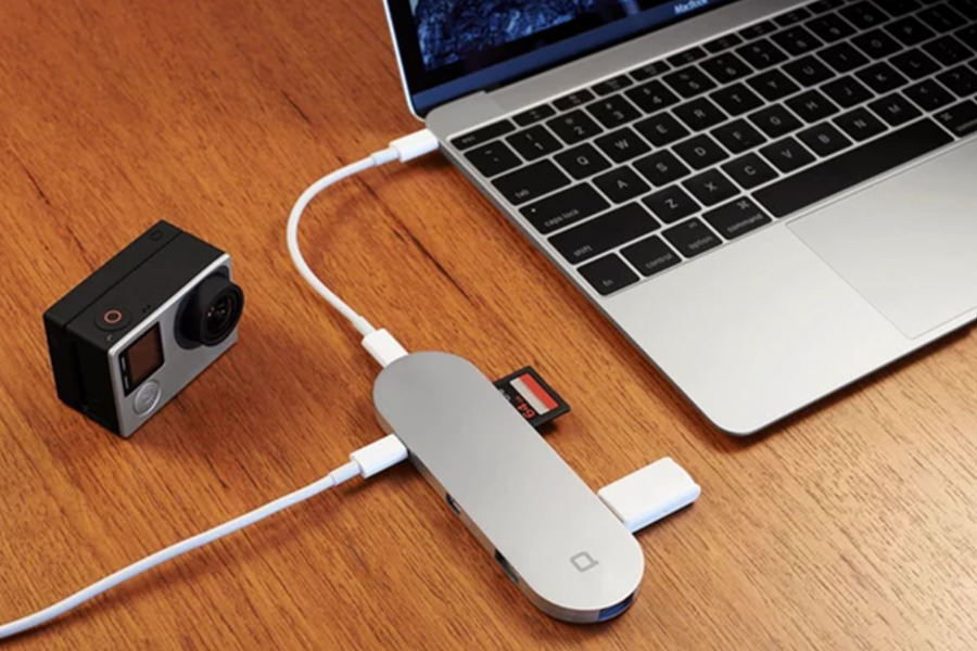 Устройство Nonda Hub+ решает главную проблему MacBook Air 12 Retina