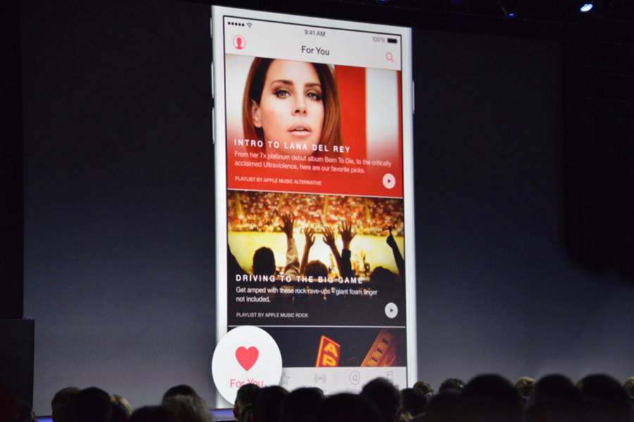 Представлен музыкальный сервис Apple Music с социальными возможностями
