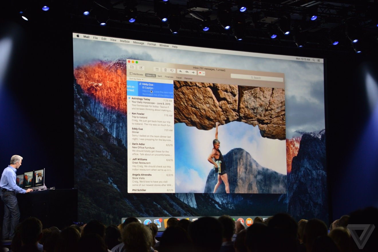 Apple el capitan os x 2