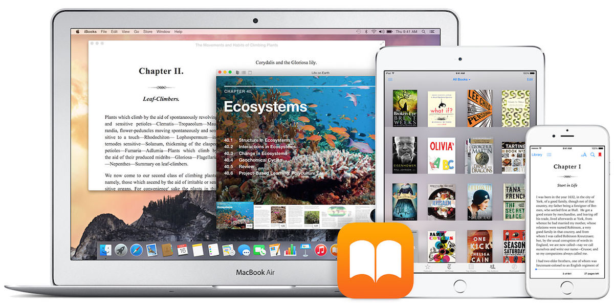 FB2 to epub apple ibooks ios iphone ipad mac 3