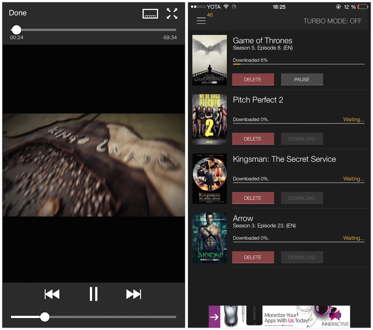 Movie Box iOS 9 iOS 8 3