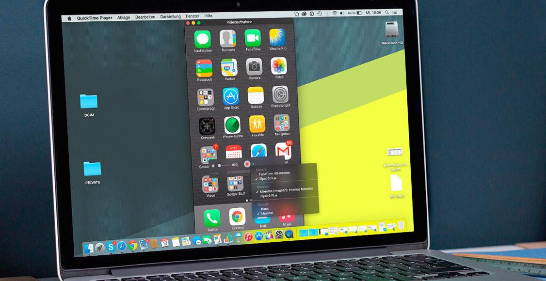 Screen REcording iOS 9 2