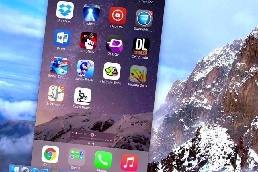Устройства на iOS 9 могут записывать экран без подключения к PC или Mac