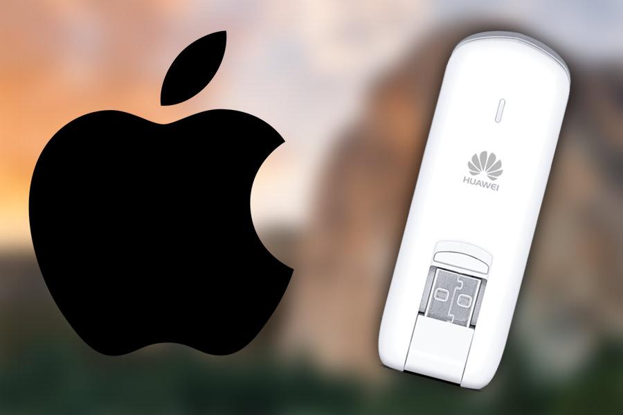 Что делать если OS X Yosemite и El Capitan не видят USB 3G/4G модем?