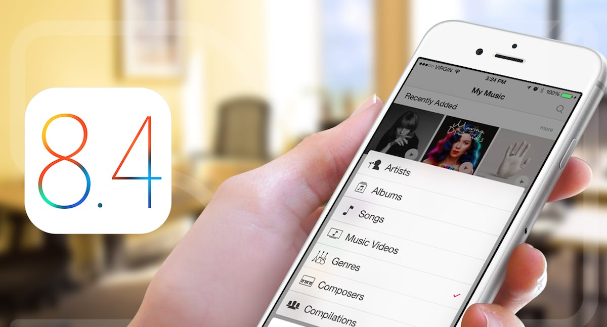 iOS 8.4 APple Russia Update iPhone ipad Mac