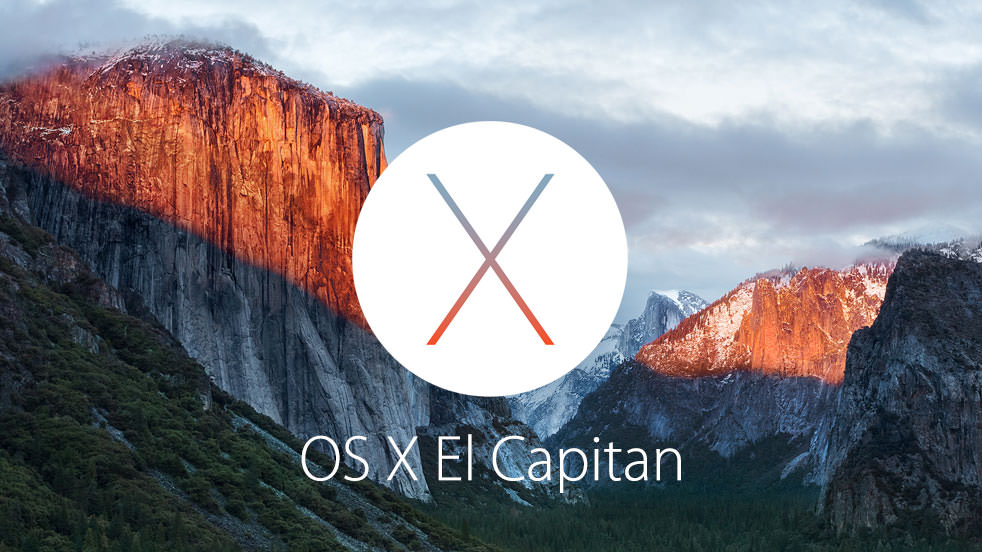 iOS 9 Apple WWDC El capitan mac logo