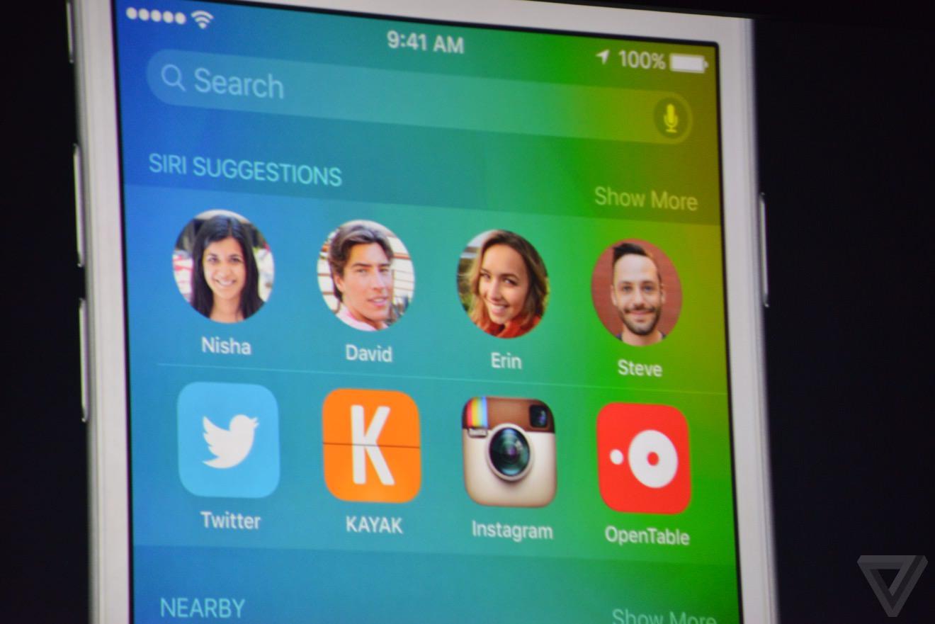 iOS 9 WWDC 3