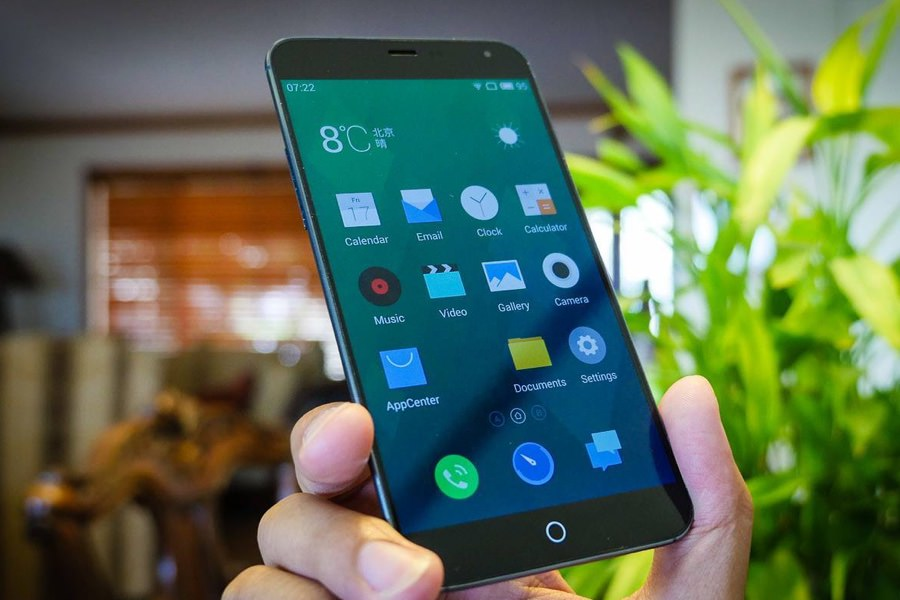 В сеть утекли характеристики смартфона Meizu MX5
