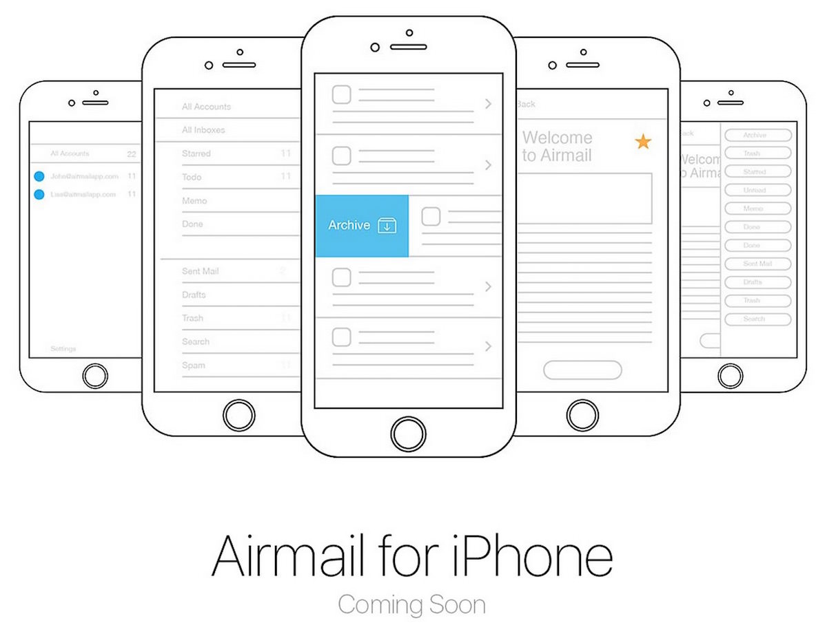 Airmail iphone