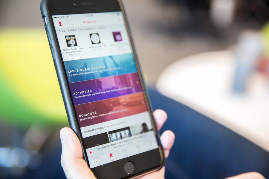 Аудитория сервиса Apple Music достигла 10 млн человек