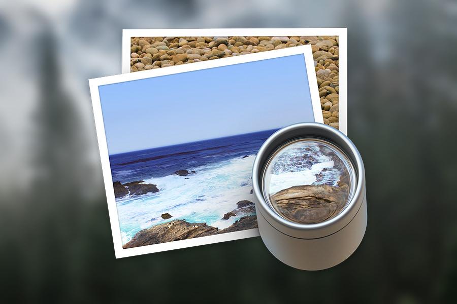 Как листать фотографии в приложении «Просмотр» на OS X