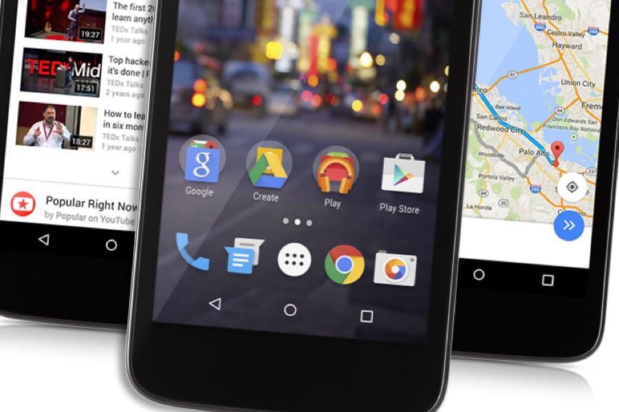 Google будет выпускать смартфоны на Android 5.1 ценой от 30 до 40 долларов