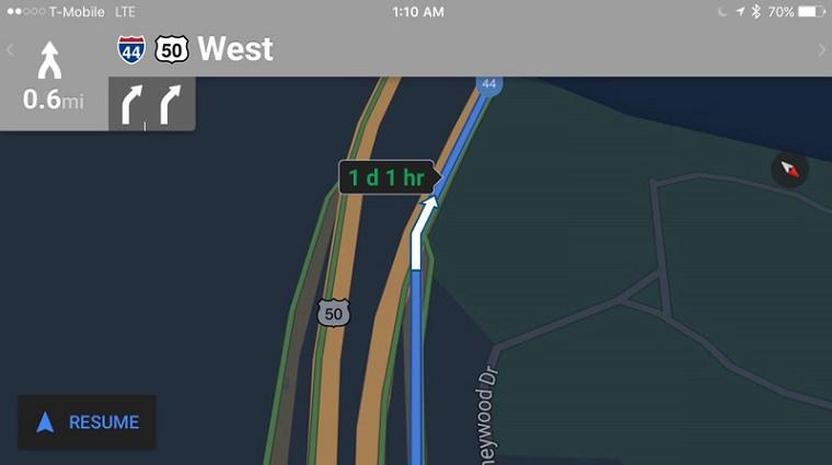 Google Maps Black Nigth 2