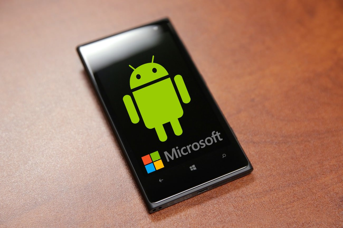 Google android microsoft windows phone 2