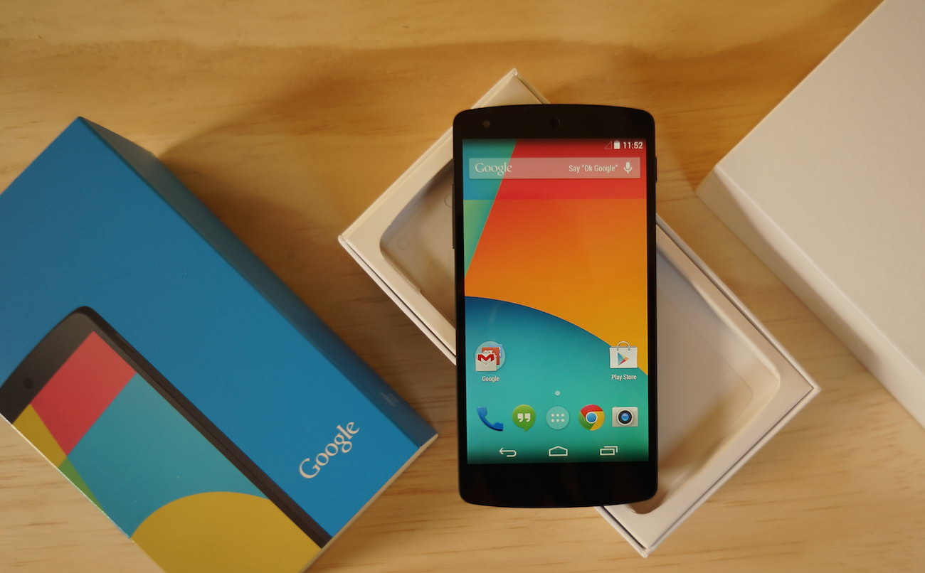 Nexus 5 2015 made Russia LG Google Android 3