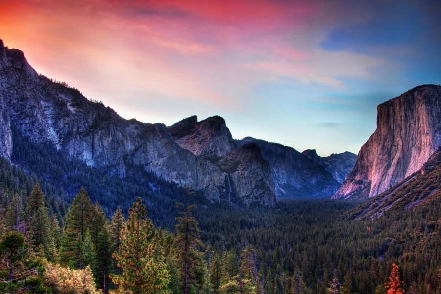7 превосходных обоев из парка Yosemite в QHD формате