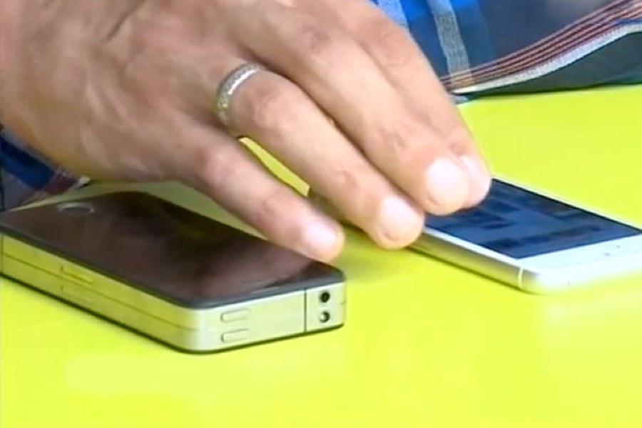 Житель Иркутска «изобрел» iPhone 7 с улучшенной батареей