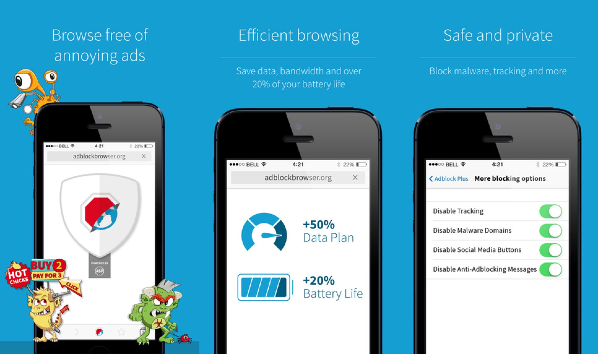 Adblock browser android ios