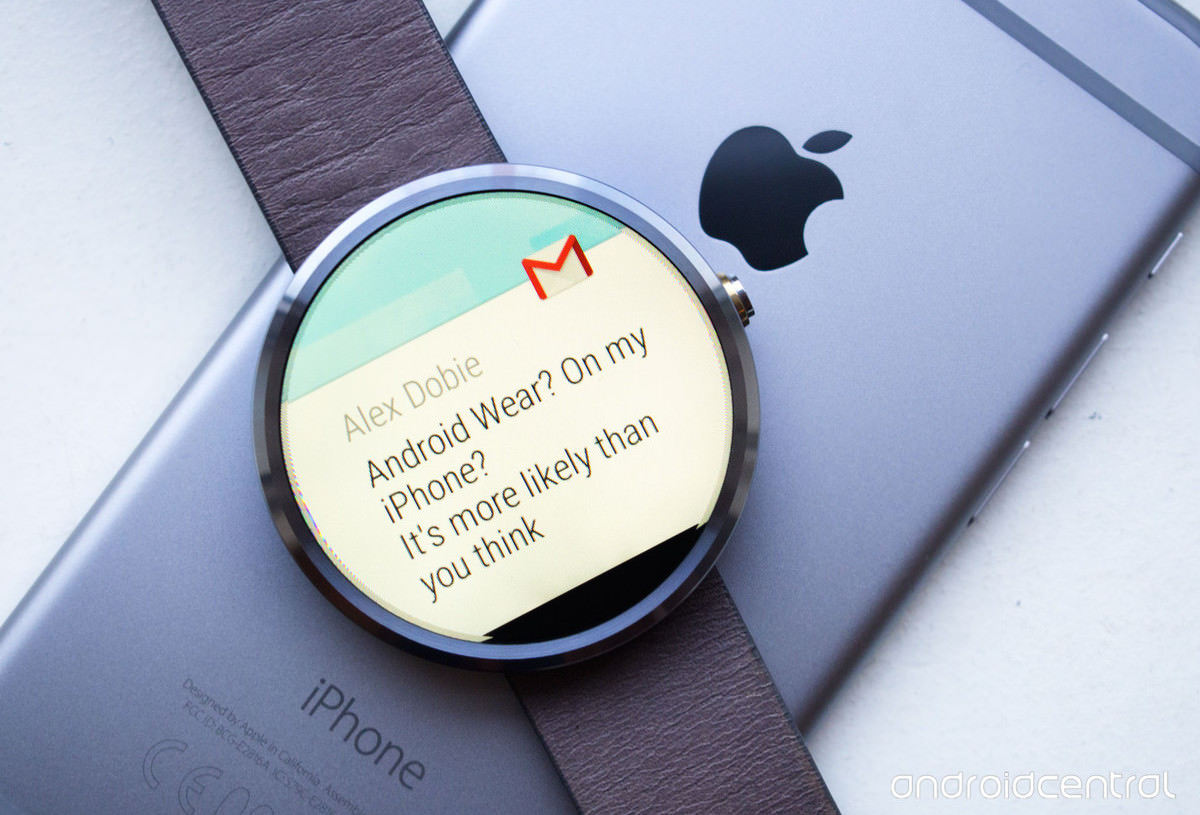 Android Wear iOS for app store iphone ipad connect