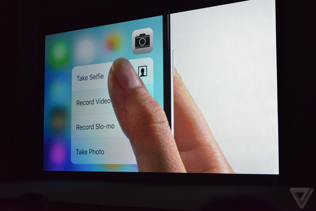 Apple Iphone 6s Plus 3D touch 2015 3
