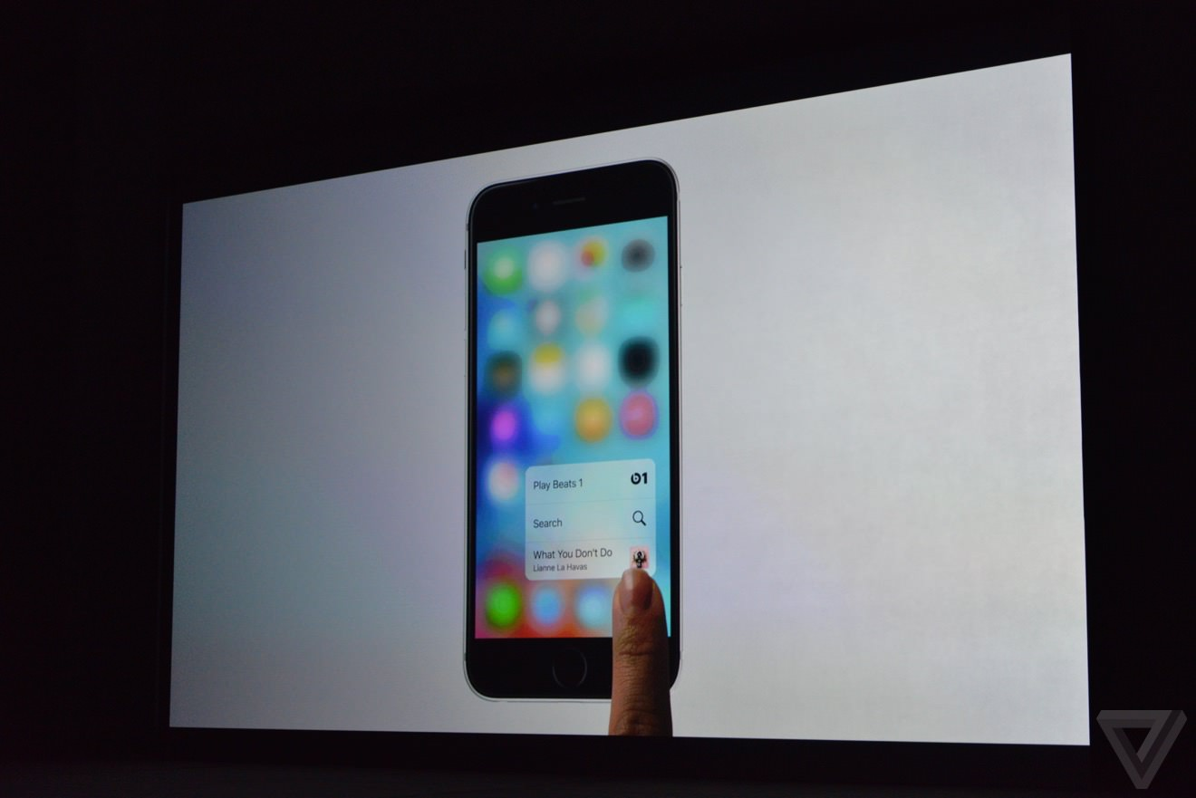 Apple Iphone 6s Plus 3D touch 2015 4
