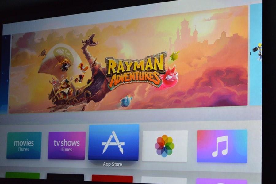 Apple TV App Store New 2015