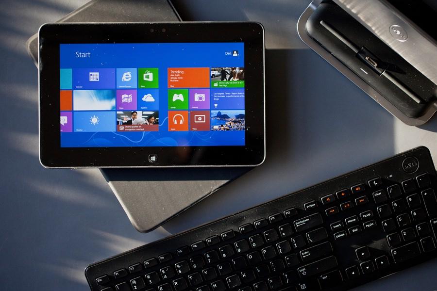 Dell XPS 12 станет конкурентом 12,9-дюймовому iPad Pro