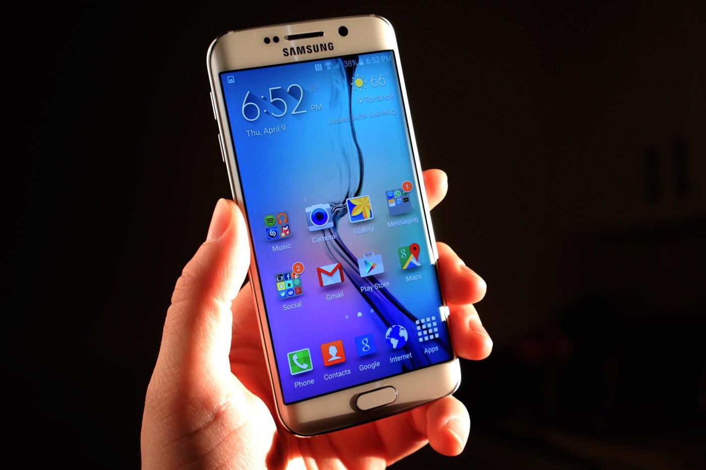 Samsung Galaxy S6 Edge Russia 2