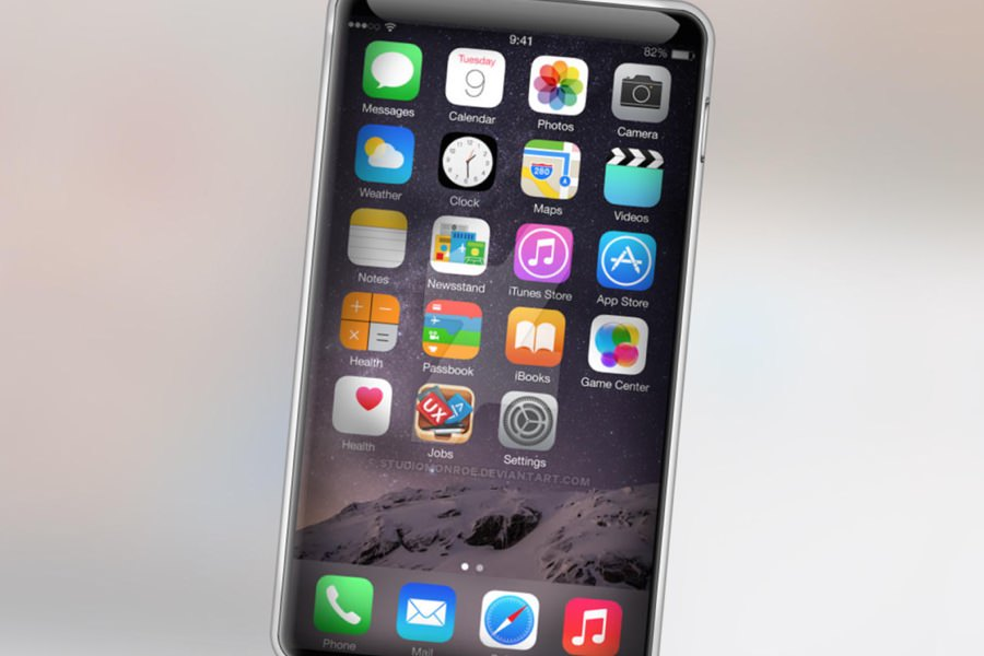 Дисплей iPhone 7 может оказаться изогнутым