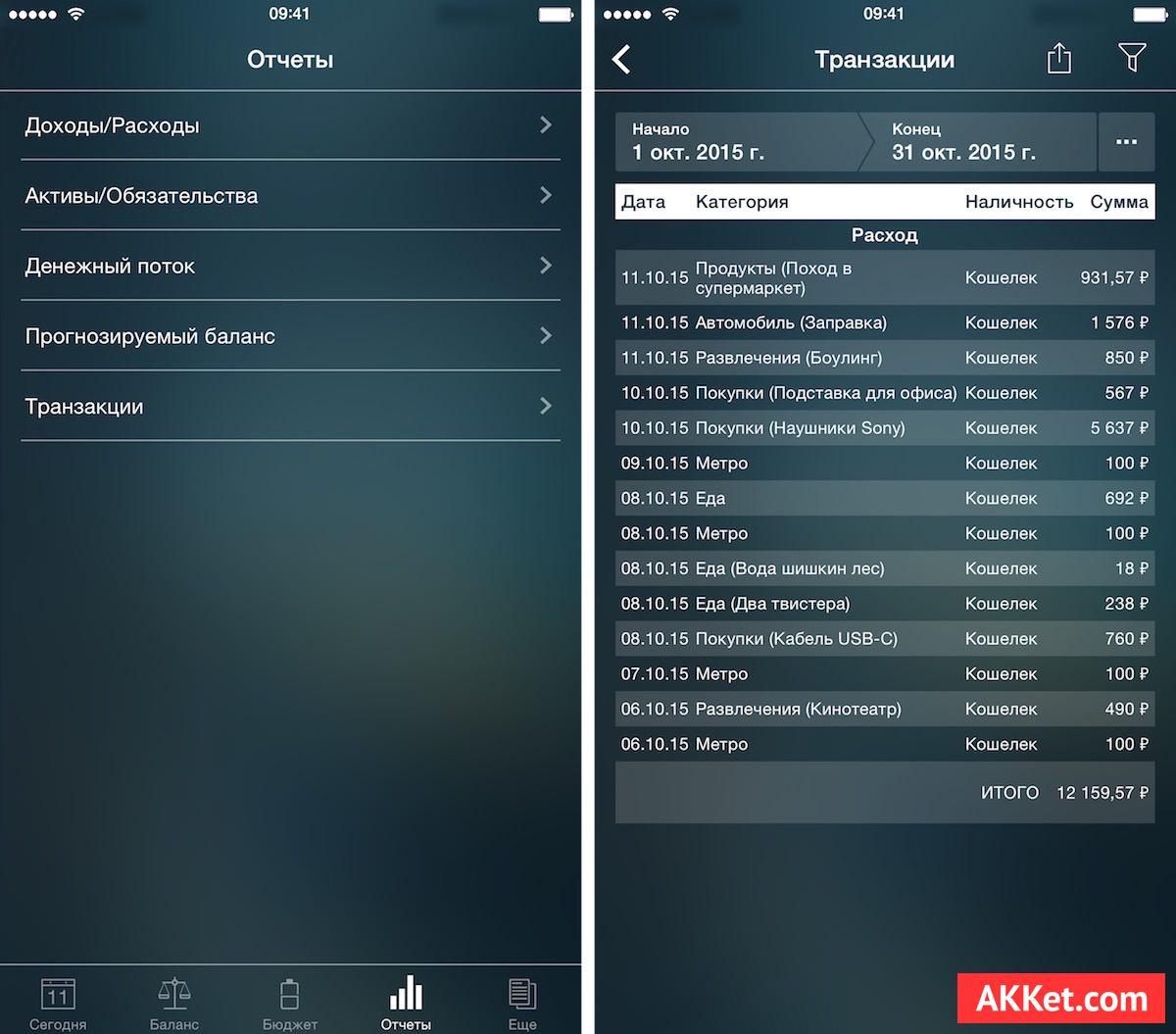 Money Pro akket.com review iOS os x mac iPhone iPad macbook imac pro iPhone 6s plus app store 5