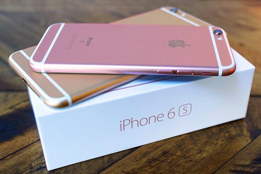 Продажи iPhone 6s в четыре раза превосходят показатели iPhone 6s Plus