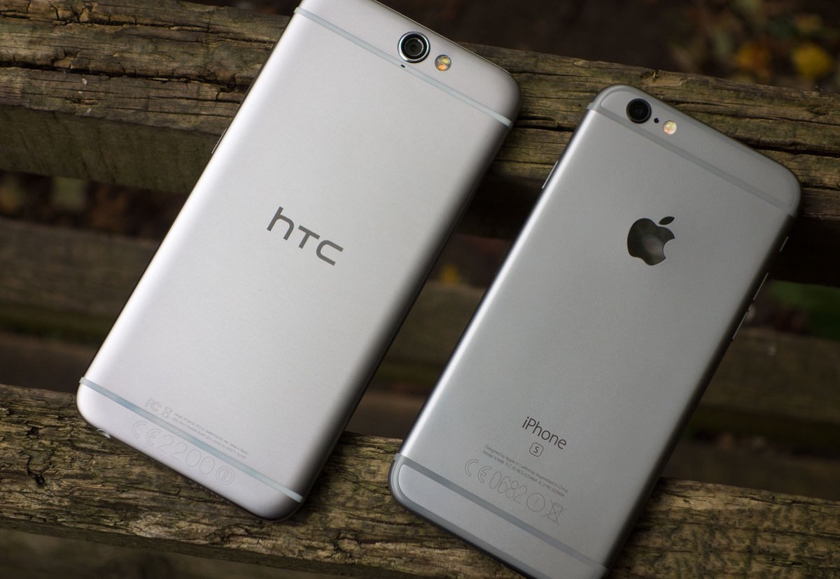 HTC One A9 Android iPhone 6 iPhone 6s Plus 2