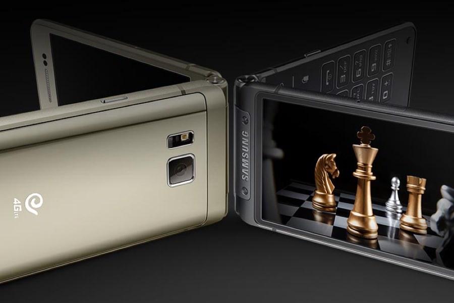 Samsung предстал флагманский раскладной смартфон на Android