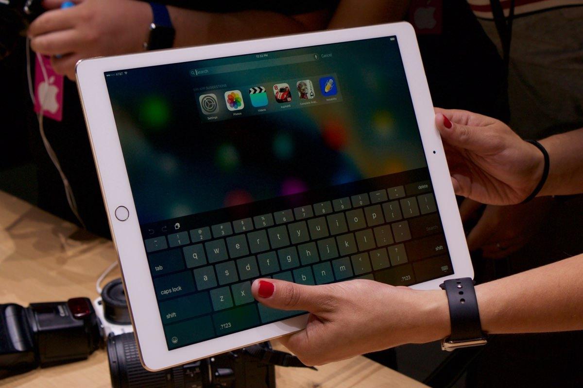 Старт продаж iPad Pro перенесли на несколько дней