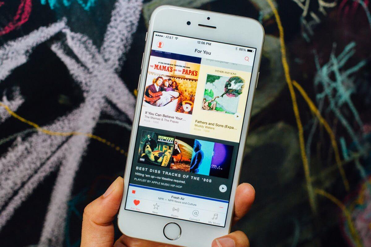 Apple Music получит поддержку музыки в высоком качестве