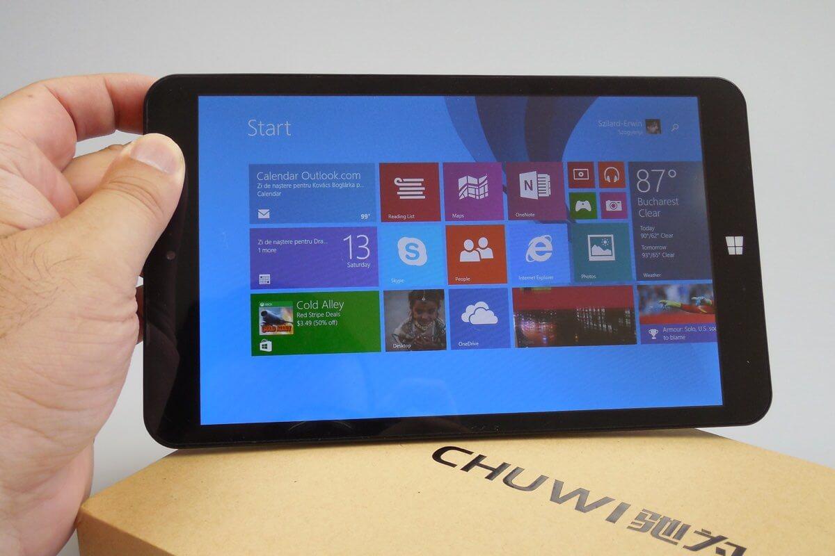 Интернет-магазин GearBest проводит распродажу Windows-планшета Chuwi Vi8 Plus