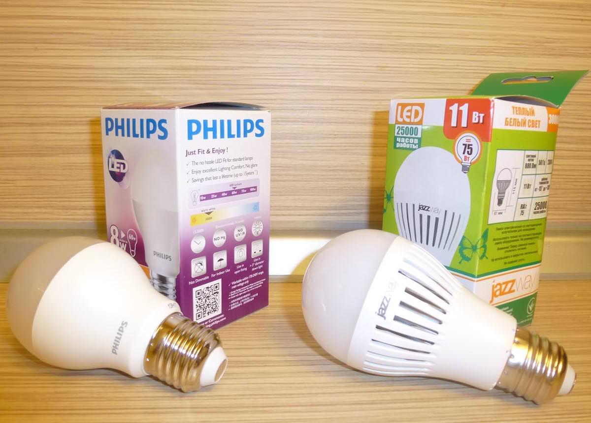Экономить на электричестве LED лампы 2